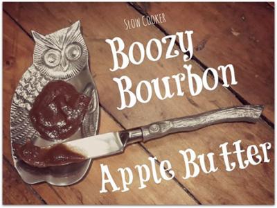 Boozy Bourbon Apple Butter