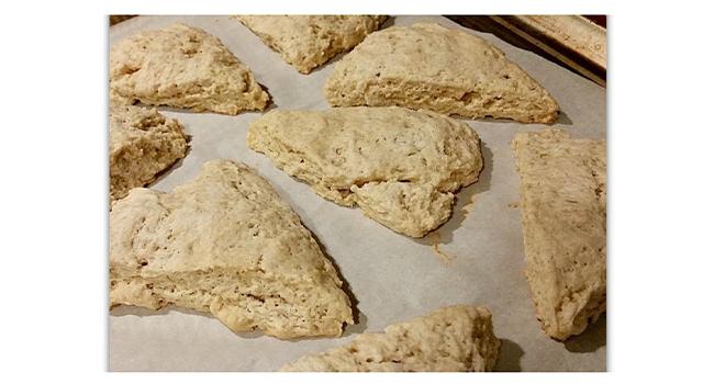 Bourbon Vanilla Bean Scones Recipe