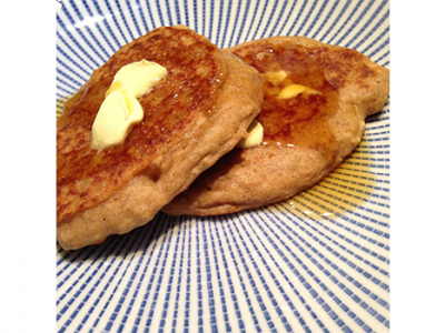 Fiery Ginger & Banana Scotch Pancakes