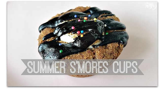 Summer S'mores Cups