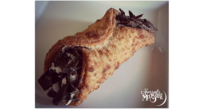 Traditional Cannoli with White Wine & Almond Butter