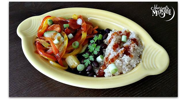 Vegan Veggie Bowls with Quinoa