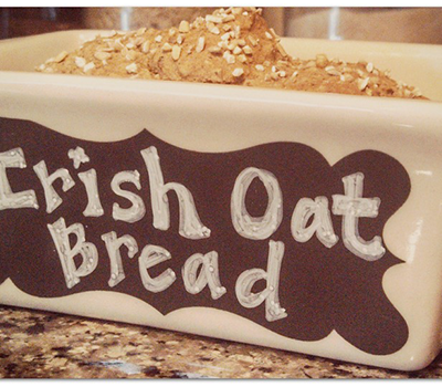 Whiskey Irish Oat Bread
