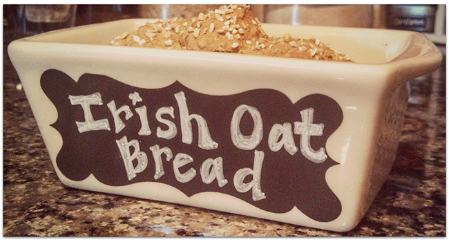 Whiskey Irish Oat Bread